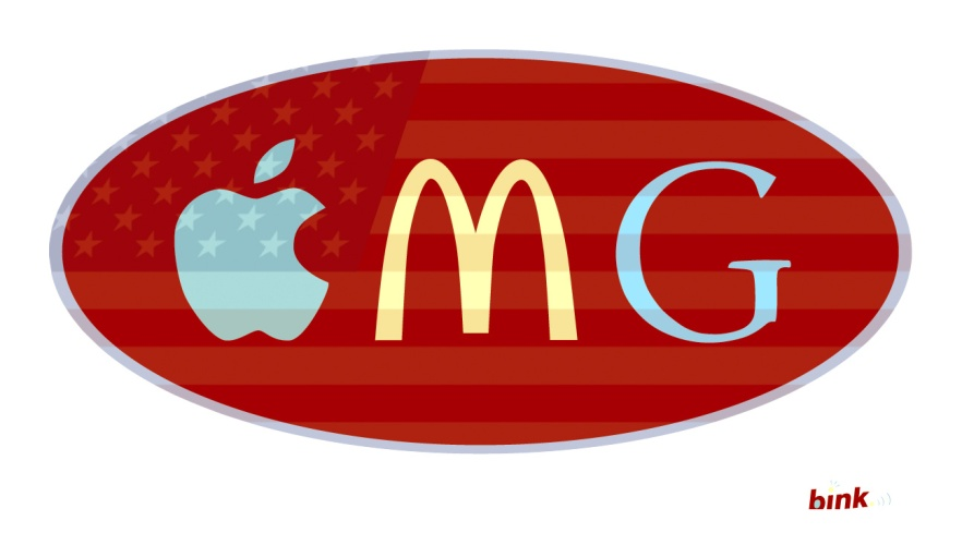 OMG, Apple, McDonald's, Google. BinkNyc, Breuk Iversen, Bink NYC, Advertising, Branding, Communications, Design