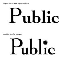 Public Cafe font