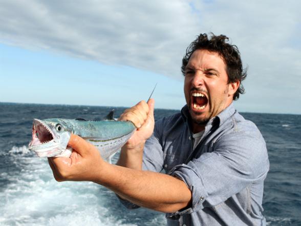Ben Sargent fishing