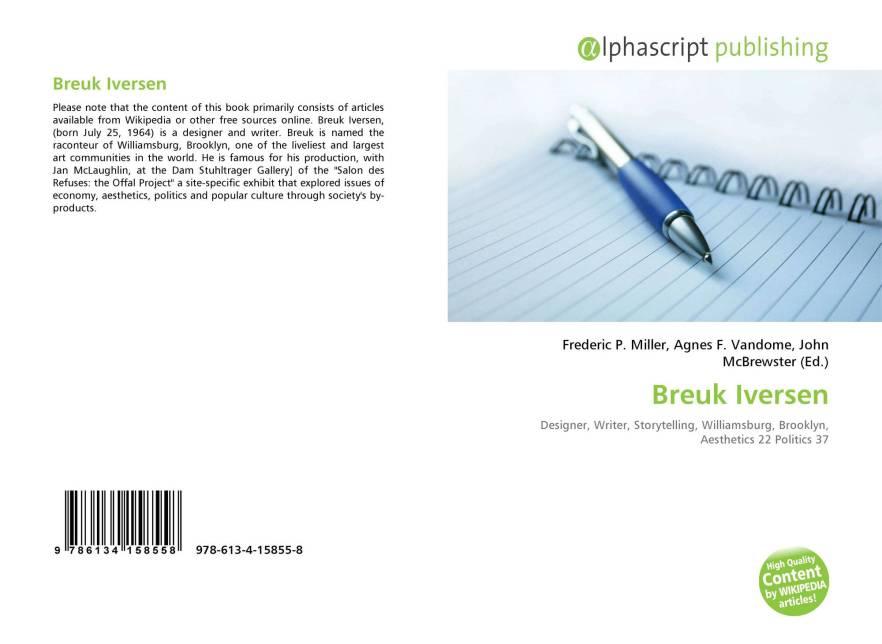 Breuk Iversen book, BinkNyc.com, BinkNyc, Brooklyn New York,