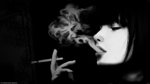 Women smoking air