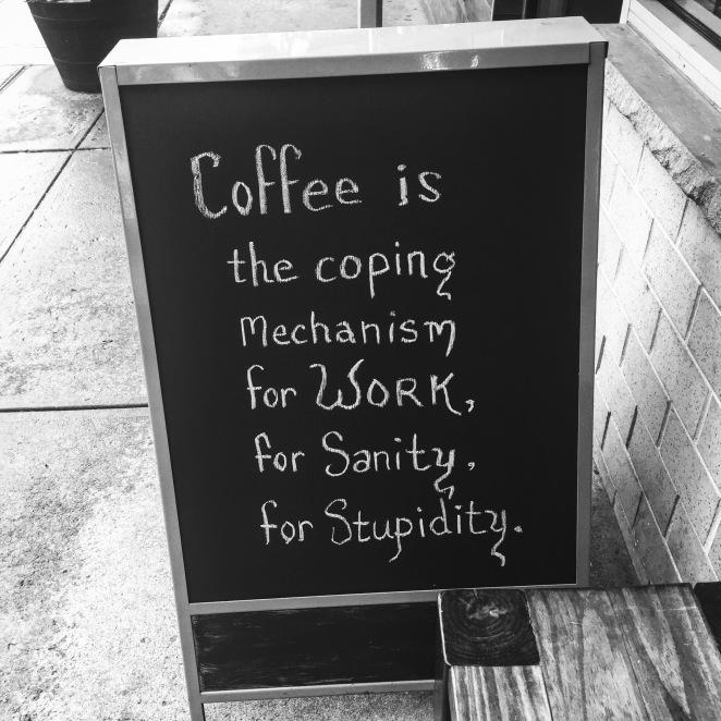Cafe Via Espresso (blackboard)