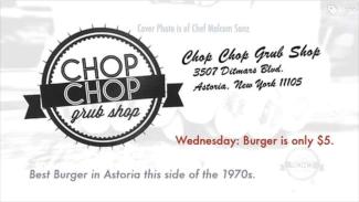 Chop Chop: Back of business card