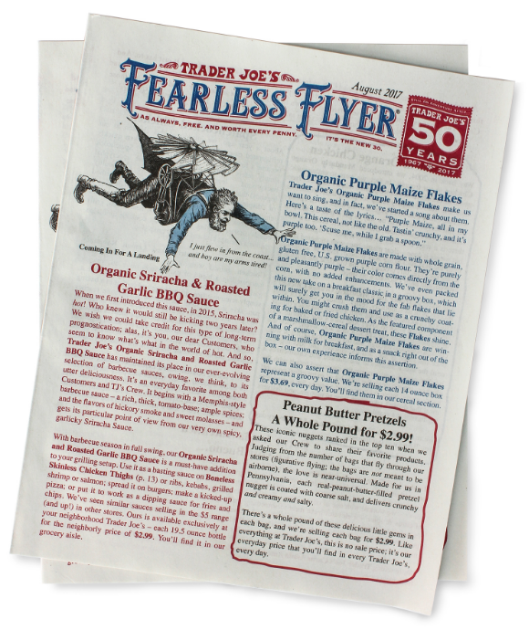 The Brilliant Fearless Flyer