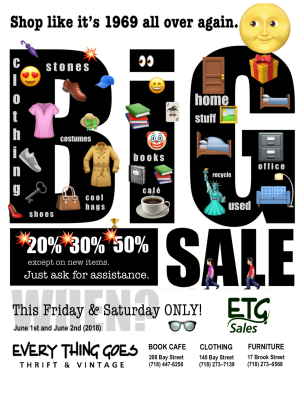 Every Thing Goes Sale Sign v2.1