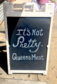 Queens Meat Sign (01)
