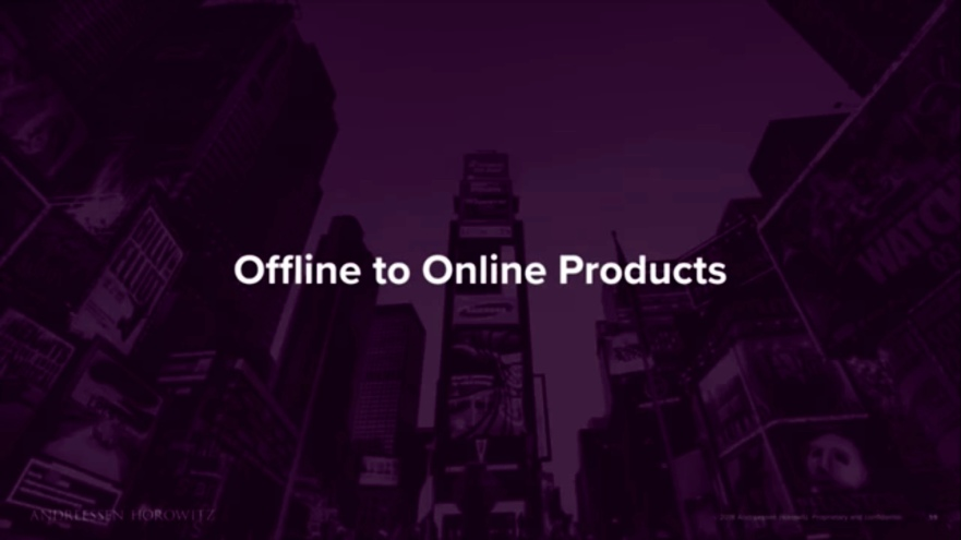 Offline leads to Online Products