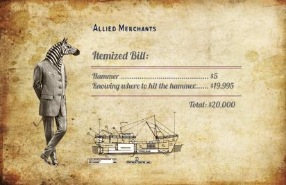 Hammer itemized bill